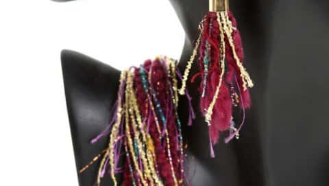 Fiber Necklaces & Accessories
