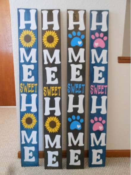 Welcome Porch Signs by Pam