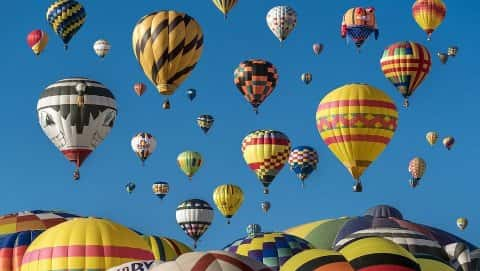 Quechee Hot Air Balloon, Craft & Music Festival