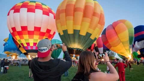 The Pahrump Balloon Festival