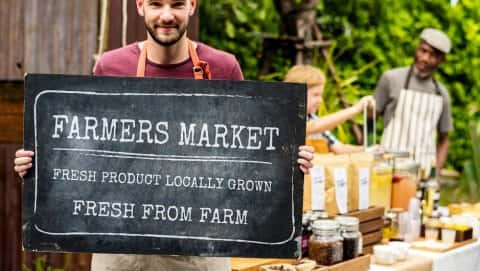 Imlay City Farmers' Market - August