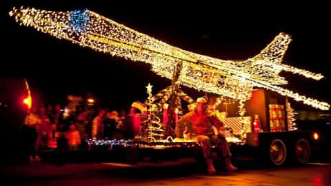 Helper, Utah's Electric Light Parade