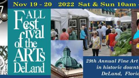Fall Festival of the Arts DeLand