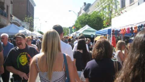 Nyack's Famous Street Fair - October