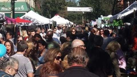 Nyack's Famous Street Fair - July