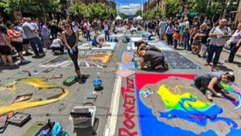 Reno Chalk Art & Music Festival