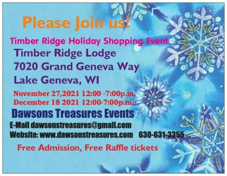 Timber Ridge Shopping Event - November