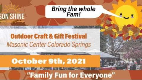 Outdoor Family Craft & Gift Festival - August
