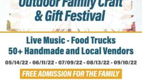 Outdoor Family, Food & Craft Festival -June