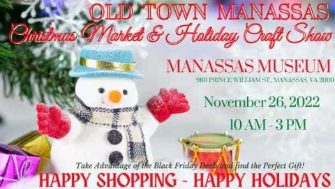 Old Town Manassas Christmas Market and Holiday Craft