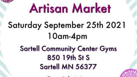 Sartell MN Artisan Pop Up Shop
