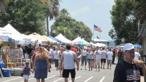 Saint Marys Rock Shrimp Festival