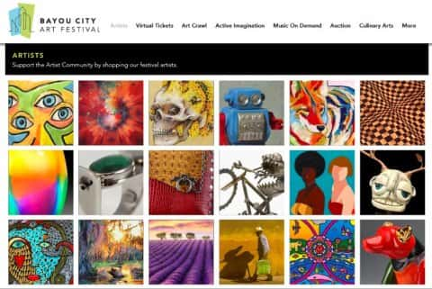 Keeping Art Alive in the Bayou City