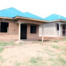 Rehoboth Children's Village Orphanage Cottages in Masindi, Uganda. All of the Profits From Our Sales at Encouraging the Nations From the Book Be Encouraged and the Notecards Go to Support This Orphanage.