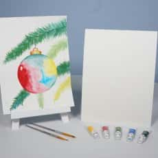 Ornamental Bliss Watercolor Painting KIT