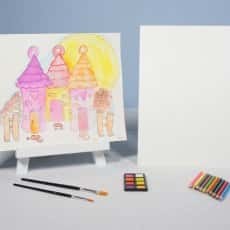 Candyland Watercolor Painting KIT