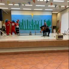 Performing For Family Literacy Night
