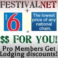 Pro Members Get Lodging Discounts!