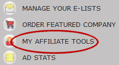 Affiliate Tools screenshot