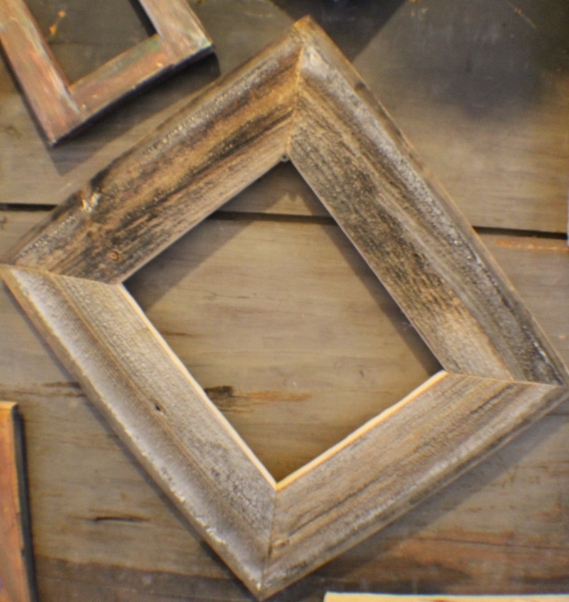 Barn wood frames dustbunnyframes re claimed wood for Craft picture frames bulk