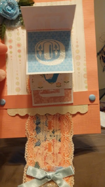 Waterfall love card tink 39 s homemade creations for Handmade paper creations