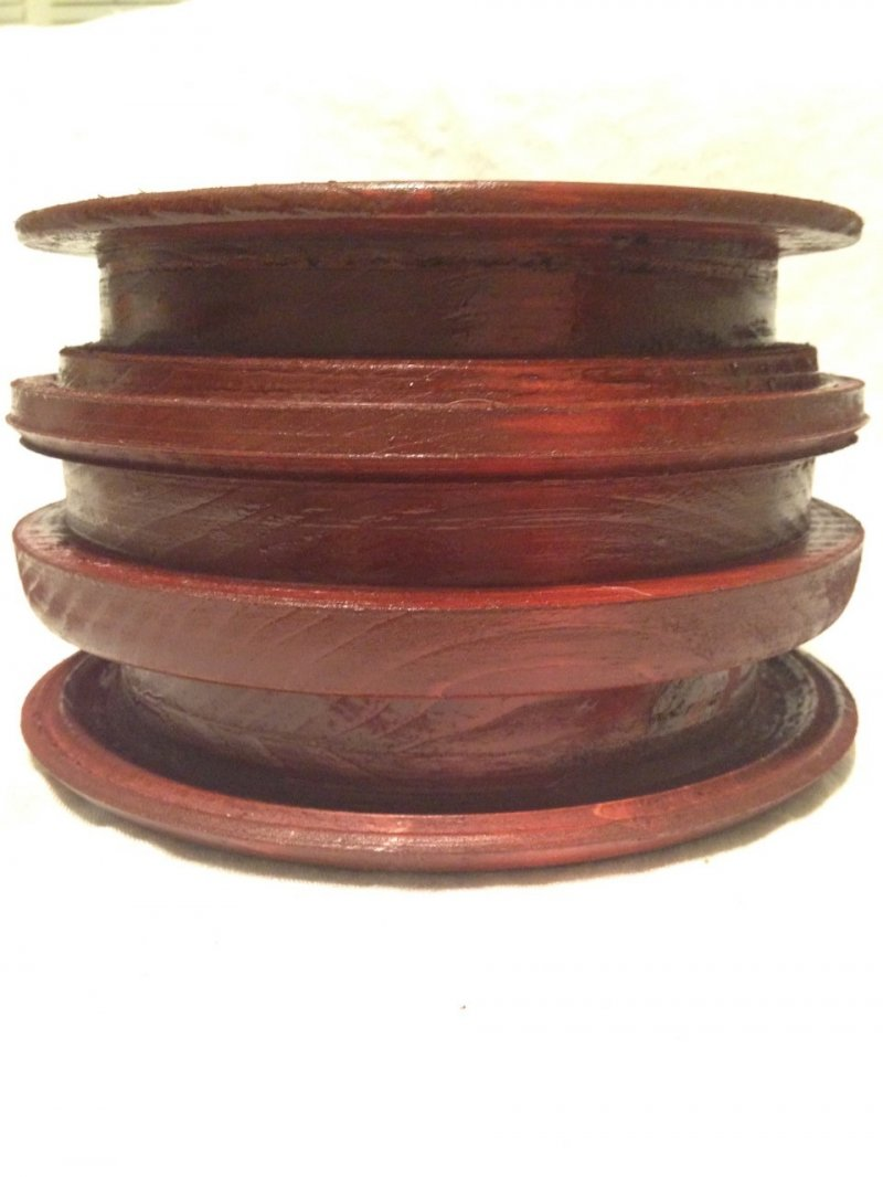 Hand Carved Wooden Bowl Sedona Red P Siek Arts