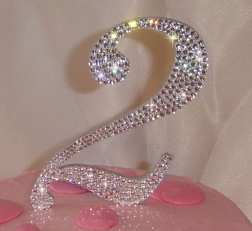Bling Cake Toppers For Any Gender Or Occassion Bling