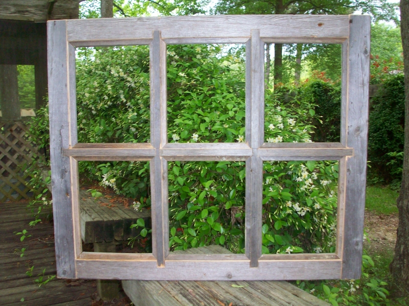 8x10 Barnwood Window Pane Picture Frame - 6 Pane | Bill Mclellan ...