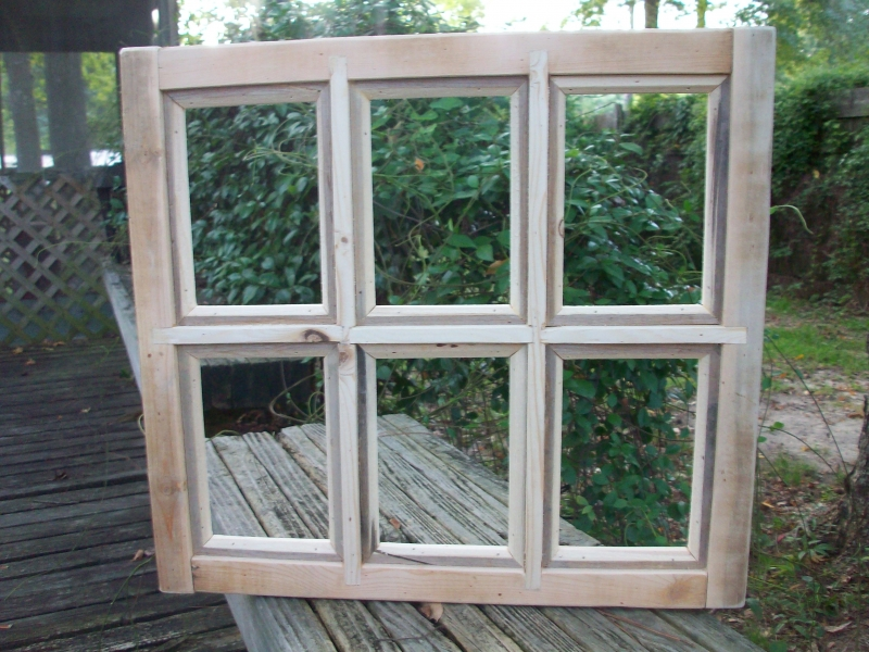 8x10 Handcrafted Window Pane Picture Frame 6 Bill Mclellan