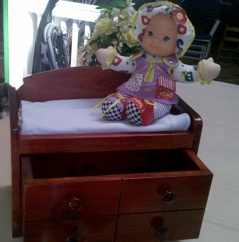 Doll Changing Table For American Girl Dolls