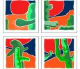 Saguaro Alive Series / Four Limited, Numbered Prints