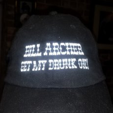 Bill Archer - Get My Drunk On ball cap