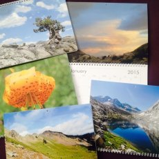 2015 Wall Calendar (Photographs from the Pacific Crest Trail)