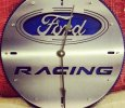 Ford Racing Clock