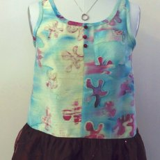 Hand painted Tank Tunic