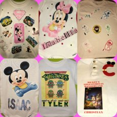 Special personalized infant Onesies and Kids Tee's