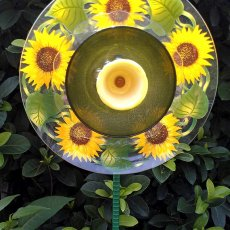 Sunflower glass flower for your garden