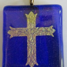 Blue Cross Pendant