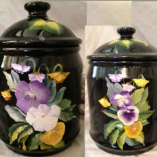 Painted Pottery Jars