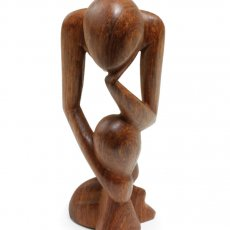 African Thinker Statue