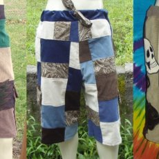 Custom Made Patchwork Shorts