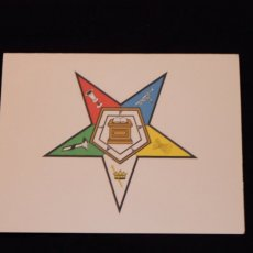 Order of the Eastern Star Note Cards