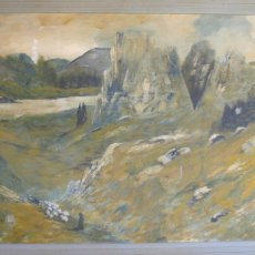 "Oil Painting by Tim Oleary. 52""x88"" including frame"