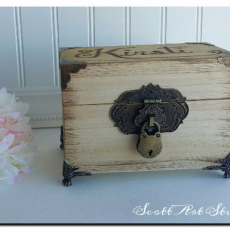 French Provincial Recipe Box
