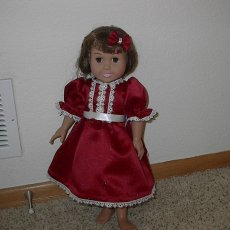 American Girl Doll Party Dress