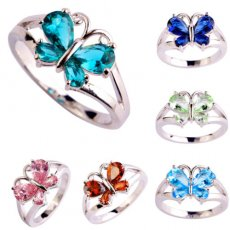 Butterfly Ring in Your Choice of Colors