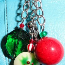 Purse charm, keyrings & purse hooks