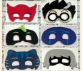 Character inspired Pretend Play Masks