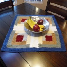 Crocheted Table Topper