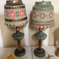 Renewed vintage lamps
